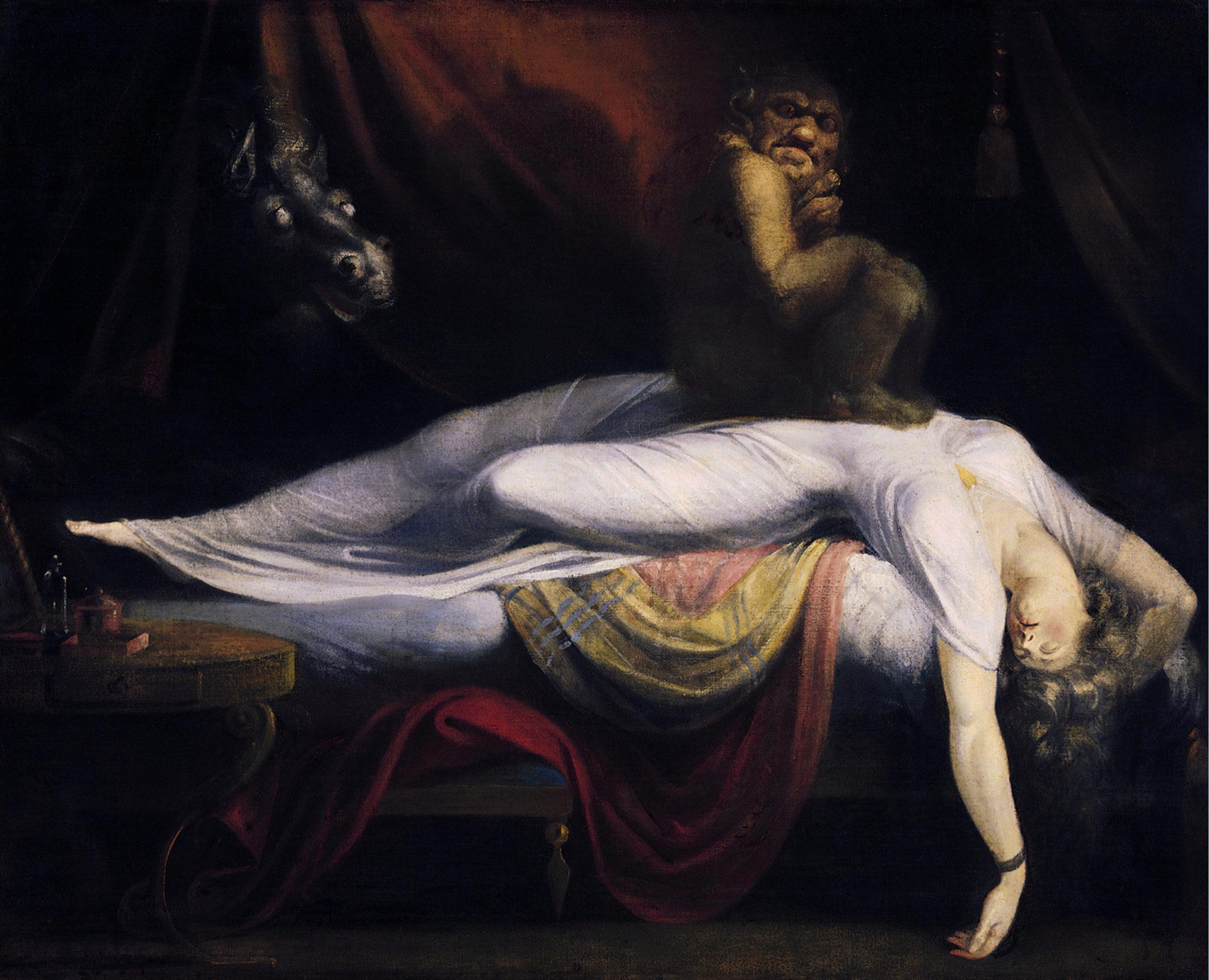Una potente preghiera contro i sogni oscuri
