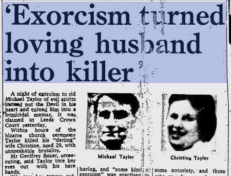 La vera e drammatica storia di Michael Taylor e del suo esorcismo